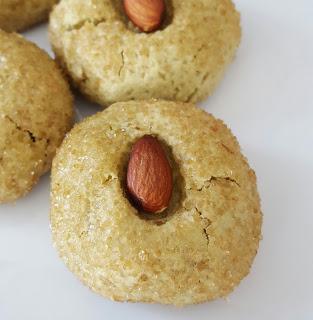 Matcha Almond Cookies • Chef Jen